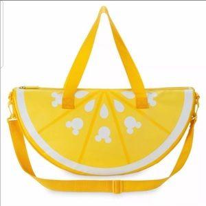 Disney Cooler Bag Yellow Lemon Shape
